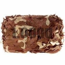 2Mx3M Desert Military Camouflage Net Sun Shelter Outdoor Filet Militaire Camouflage Net Customized Size & Color Desert Camo Net