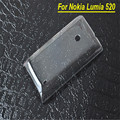 New Ultra Thin Glossy Transparent Clear Crystal Hard Plastic Case Cover Skin For Nokia Lumia 520