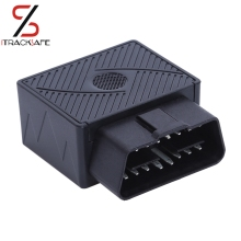 Plug Play OBDII OBD2 OBD 16 PIN Auto Car GPS Tracker locator with web vehicle Fleet Management system  IOS & Android APP