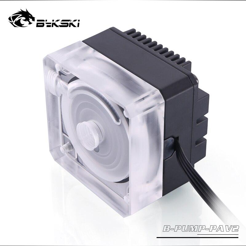 Bykski B-PUMP-PAV2, 10W PWM Water Cooling Pumps, Maximum Flow 450L/H, Maximum Lift 3 Meter,