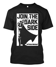 Star Wars join the dark side - Custom T-shirt Tee Free shipping Harajuku Tops Fashion Classic Unique