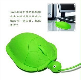 Free shipping|tortoise-shaped optical usb mouse lovely novelty 3D mini Computer mouse