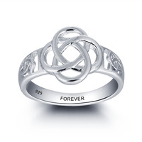 Personalized 925 Sterling Silver Promise Ring For Women Men Vintage Jewelry Engagement Wedding Rings Free Engraved