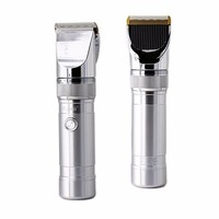 Professional Hair Clipper Aluminum Alloy Rechargeable Electric Hair Trimmer Kemei Hair Removal Hair Cutting Machine KM9801