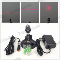 Focusable 650nm 50mw Red Line Laser Module Glass Lens Locater 12x60mm