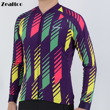 Winter Thermal Fleece Long Sleeve Cycling Jersey MTB Bike Clothing Wear 2019 Spring Autumn Pro Bicycle Clothes Cycling maillot wosawe soft thermal fleece cycling jersey long sleeve mtb bike bicycle shirt road cycling autumn winter sports wear