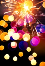 Laeacco Colorful Light Bokeh Baby Newborn New Year Photography Backgrounds Customized Photographic Backdrops For Photo Studio цена