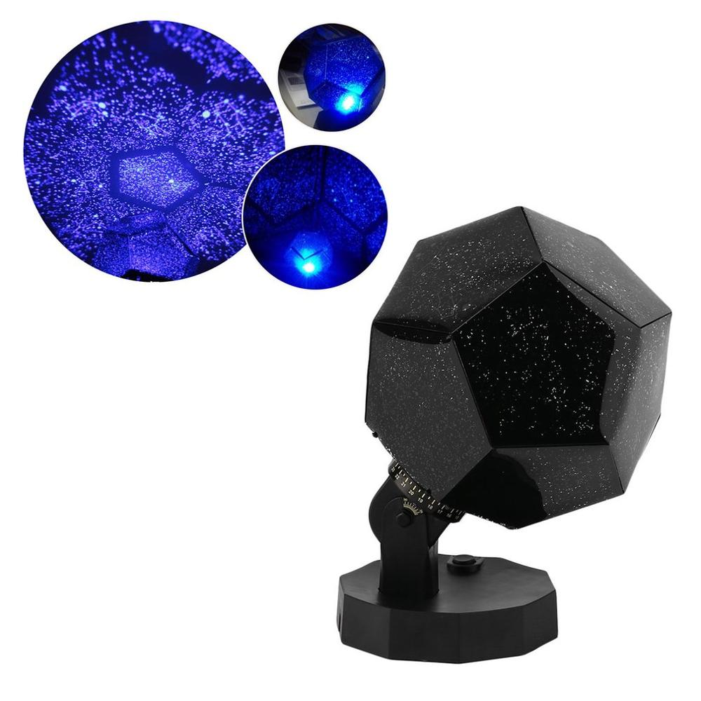 New Arrival Super-light Rotatable Star Projecting Lamp Light Fifth Generation Romantic Science LED Lights dropshipping