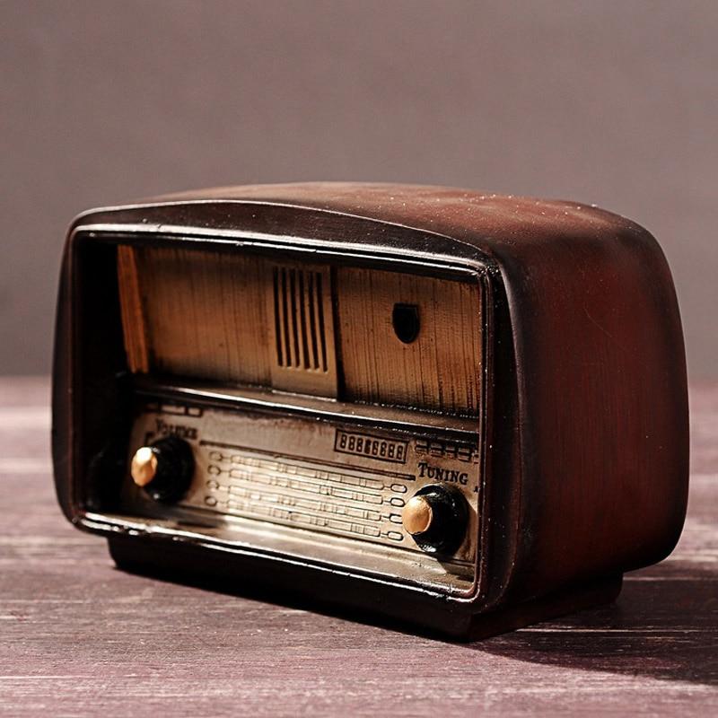 Figurines Vintage Artesanía Regalo De Radio Miniaturas Cumpleaños 34L5RjqA