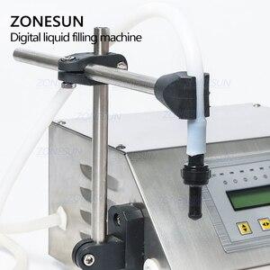Image 2 - ZONESUN GFK 160 Digital Control Pump Flüssige Füll Maschine Mini Tragbare Elektrische Parfüm Wasser Trinken milch Flaschen Füllstoff