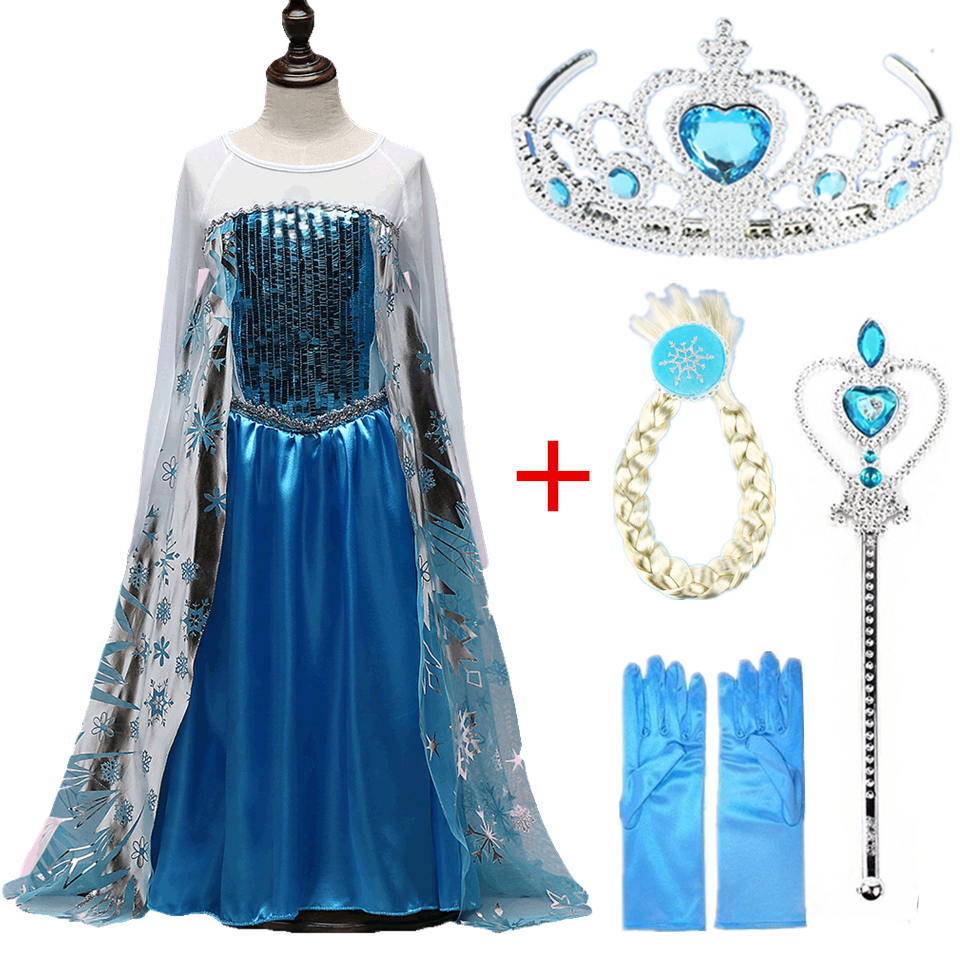 Disney Frozen dress Toddler Girl Summer Belle Princess Costume Party Clothing Beauty the Beast Yellow Sleeveless dress christmas оксана киев днем и ночью