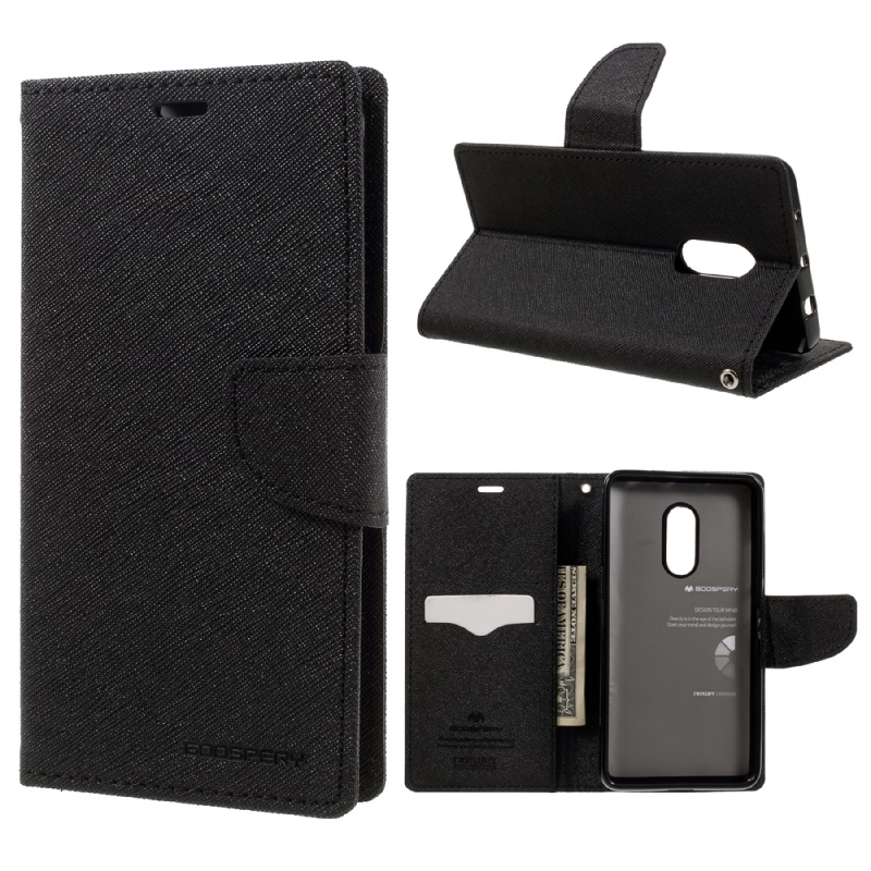 MERCURY GOOSPERY capa coque for Xiaomi Redmi Note4 Cases Bag Fancy Diary Leather Wallet Cover