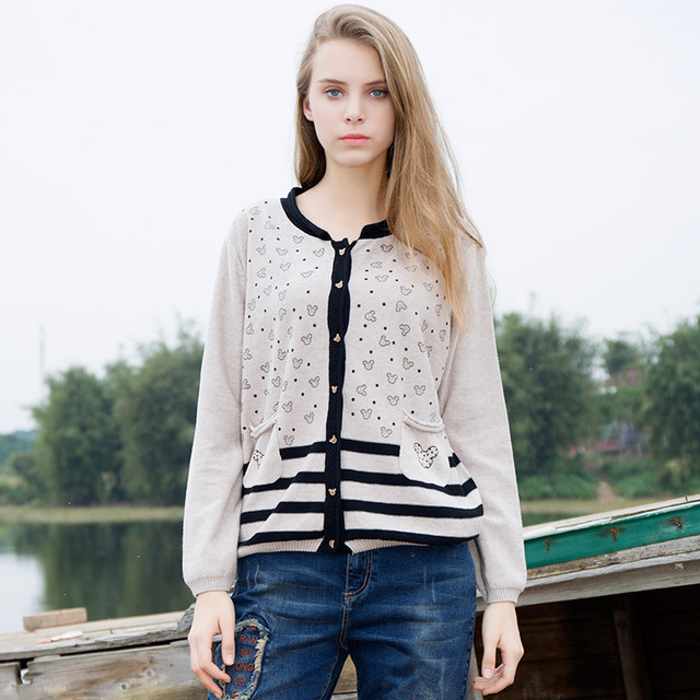 2017 Women Sweaters Cardigan Autumn Winter Fall Fashion Knit ...