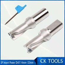 Wysoka precyzja 14 32mm CNC wiertła U wiertła 2D SP płytka wymienna wiertła do metalu 13 14.5 15.5 średnica moc u wiertła