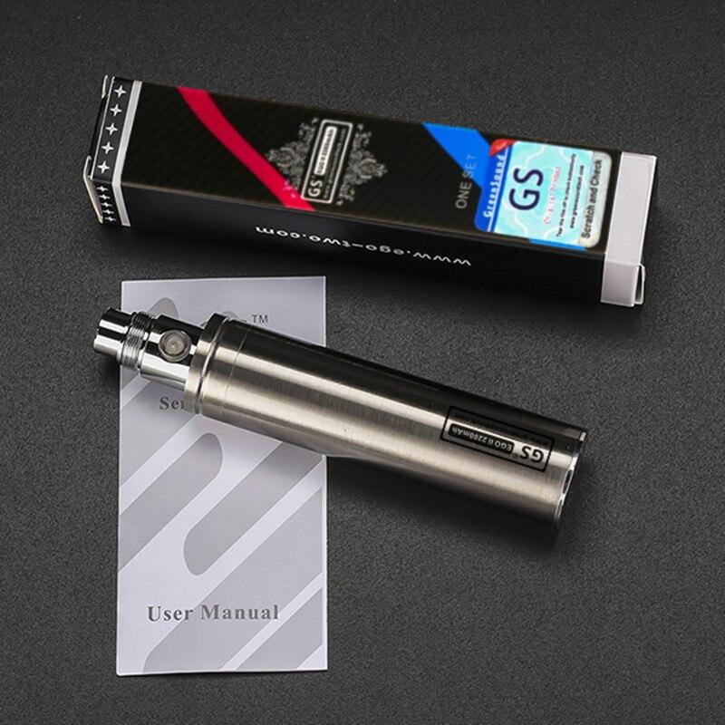 GreenSound New Capacity 2200mah EGO 1 week Battery For ego II Electronic Cigarette Ego/510 Thread Battery (1 EGO 1 week II )