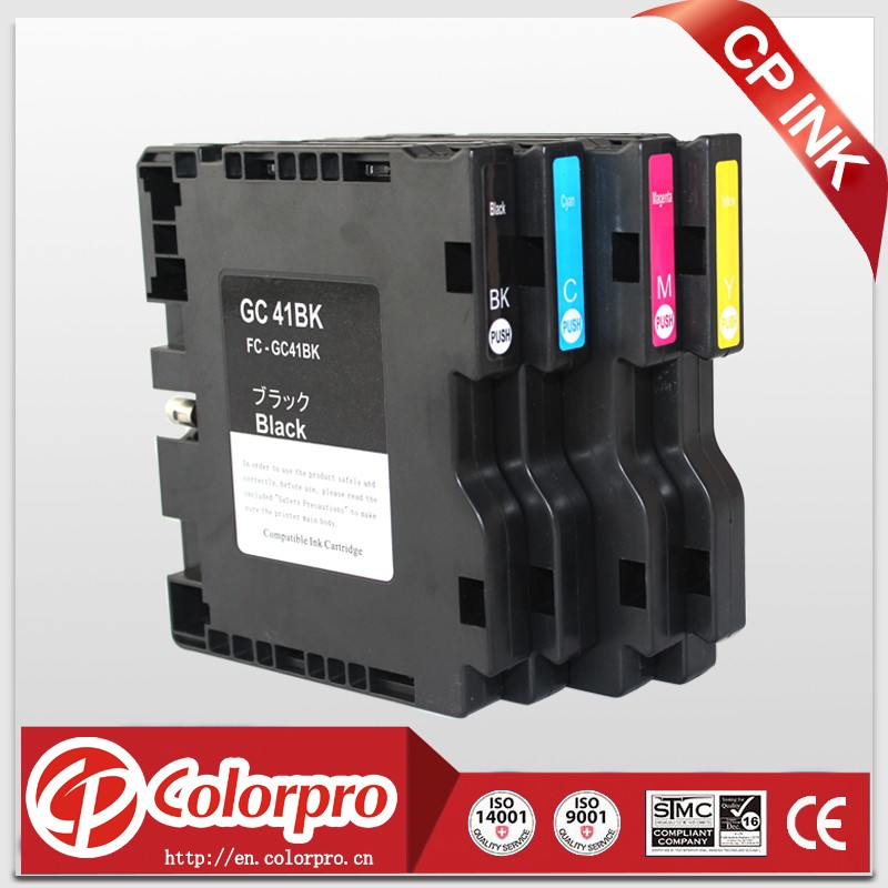 CP GC 41 Top quality for Ricoh GC41 Sublimation Ink Cartridge For IPSiO SG3100 SG3110 SG3110DN