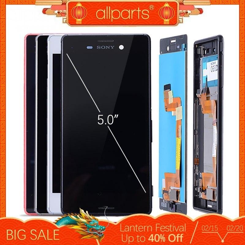 Original Unique Double SIM lcd pour SONY Xperia M4 Aqua Affichage écran tactile avec Cadre pour SONY Xperia M4 Affichage E2303 E2333 #4