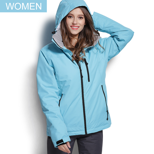 COPOZZ Ski Jacket Women Snowboard Jacket Ski Suit Female Winter Outdoor Warm Waterproof Windproof Breathable Clothes 3