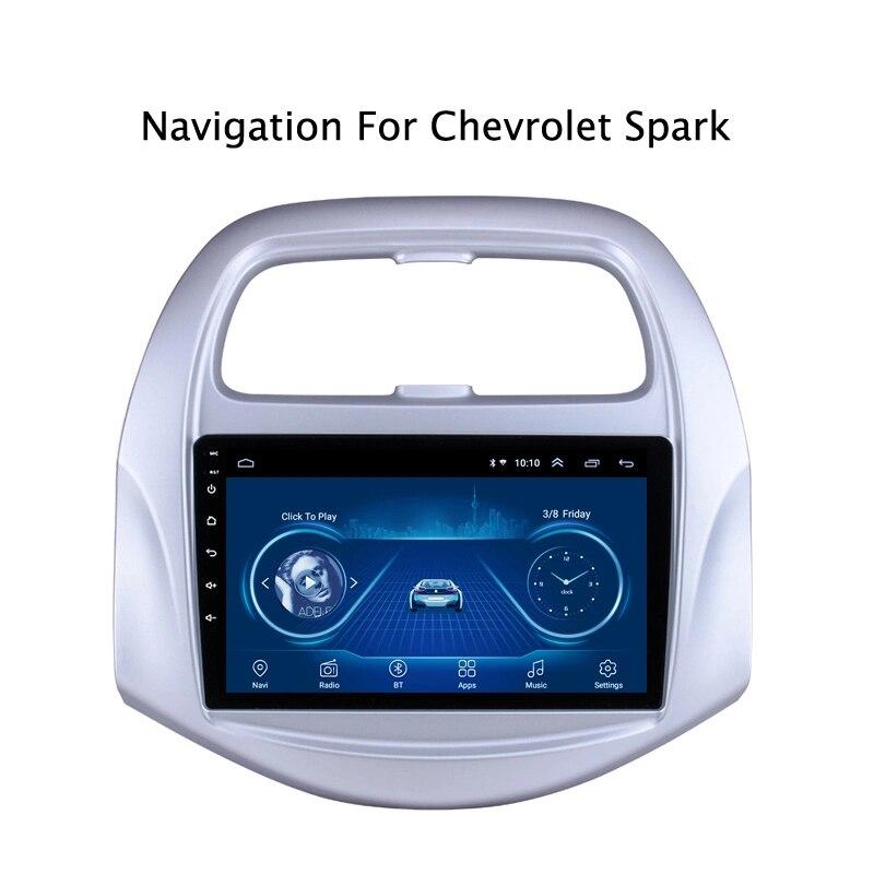 Navigation radio GPS Android 8.1 à écran tactile Super mince pour CHEVROLET Spark 2016 tablettes Headunit stéréo multimédia Bluetooth