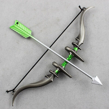 1/6 Scale Alloy Bow and Arrow Set Weapon Model Toy 1:6 Soldier Figure Toys Parts Military Army Gift	1/6 BJD H
