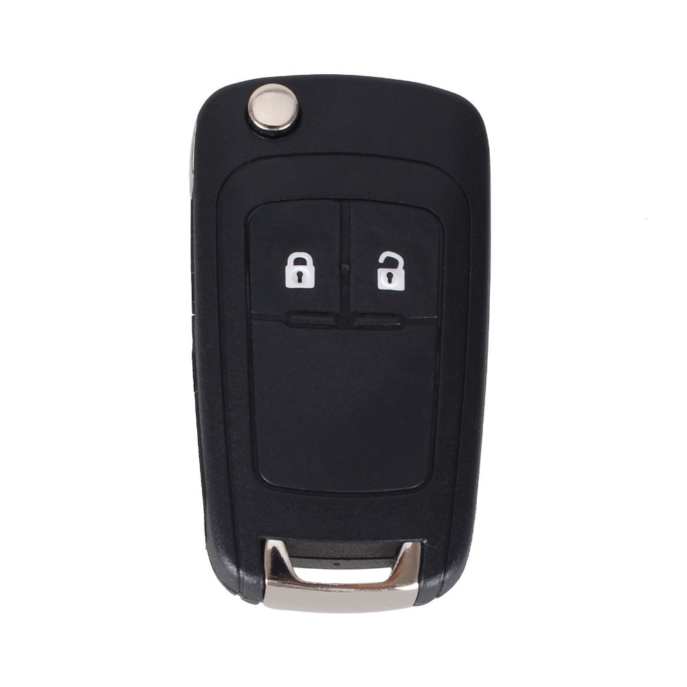 Chiave Telecomando per Chevrolet Aveo 2 Tasti Remote Case Fob Car-Styling Right Blade 1