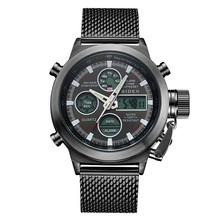 2017 Biden luxury brand watch men's sports watch with net black waterproof clock time Relogio hotel masculino