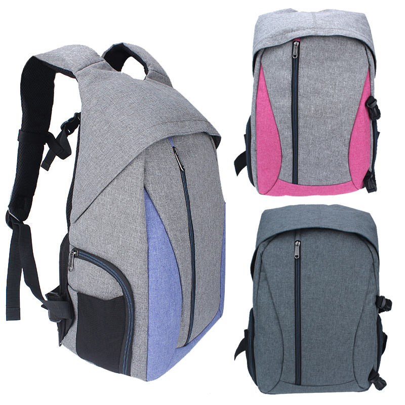 DSLR Camera Bags Linen Camera Backpack Multi-Functional Mochila Fotografia Double Shoulder Bag Video Case for Nikon Canon Sony yingnuost f04 multi functional dslr slr camera bag canvas case shoulders backpack 43x33x16 cm