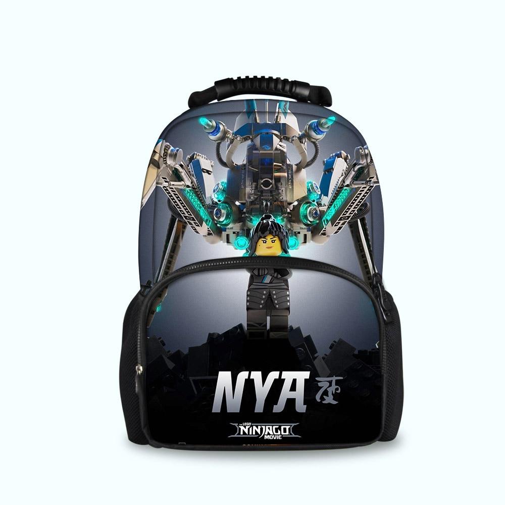 Games Ninjago Backpack School Bag Girls Boys Preppy Style Large Capacity Backpacks Teenagers Satchel Book Bags School Supplies Luggage & Bags