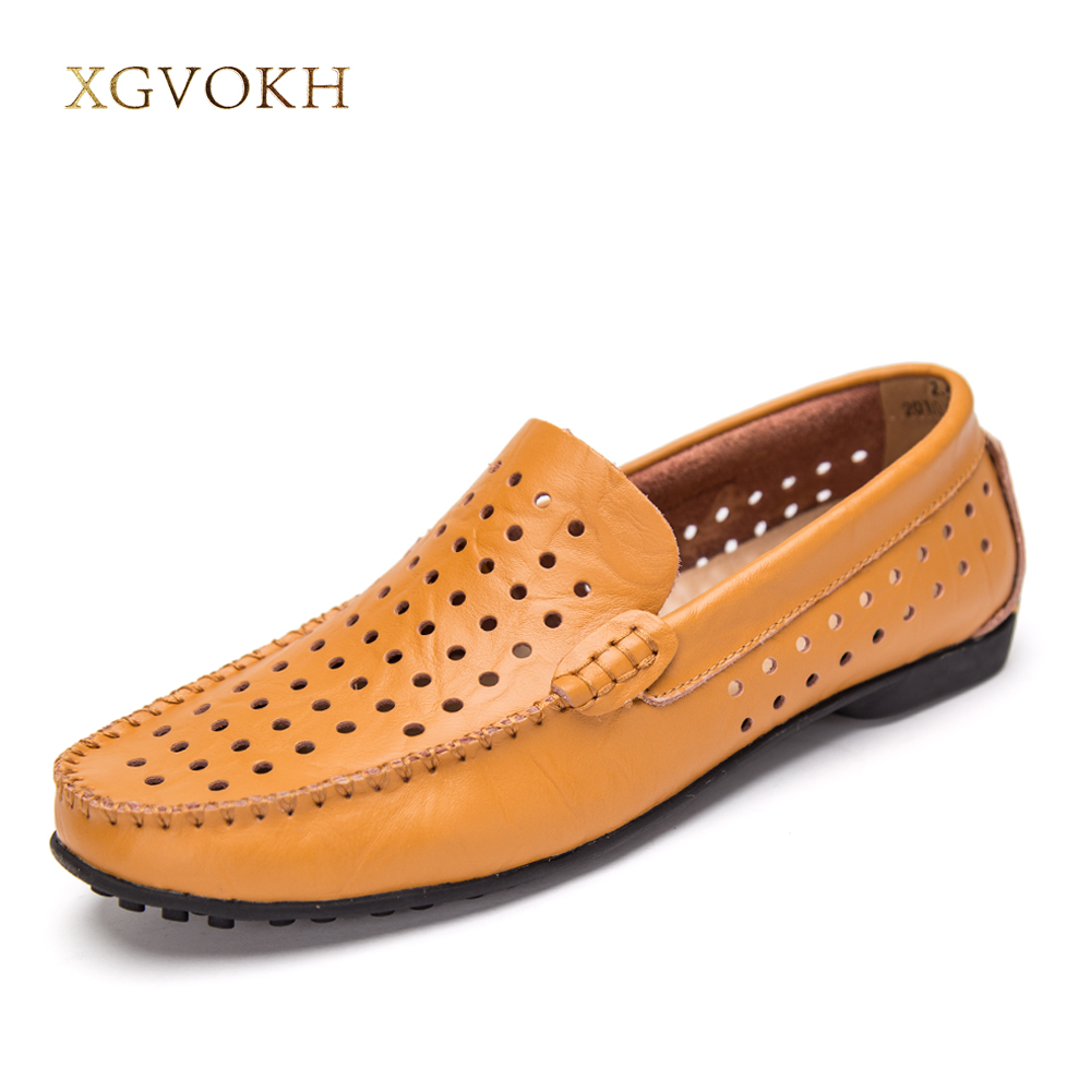 New Men Genuine Leather Breathable boat shoes Fashion Mens Casual Shoes Cowhide Driving Moccasins Slip On Loafers Man Flats pl us size 38 47 handmade genuine leather mens shoes casual men loafers fashion breathable driving shoes slip on moccasins