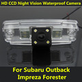 For Subaru Forester Outback 2008 2009 2010 2011 2012 Impreza Sedan Legacy 2 Car CCD Night Vision Backup Rear View Camera Parking