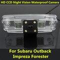 Para Subaru Forester Impreza Outback 2008 2009 2010 2011 2012 Sedan Legacy 2 Visão CCD Noite câmera Do Carro de Backup Câmera de Visão Traseira de Estacionamento