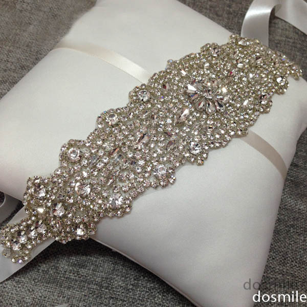 2015 New arrival free shipping Bling Bling crystal and rhinestone bridal wedding accessories crystal waist belt