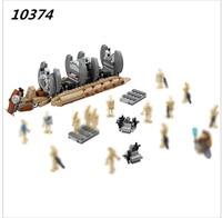 Bela 10374 Star Wars 565pcs Battle Droid Troop Carrier Spaceship Model Building Blocks Bricks Compatible Legoes