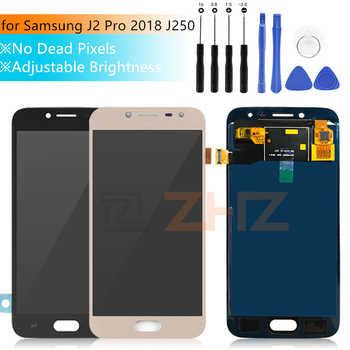 For Samsung Galaxy j2 pro lcd J250f 2018 J250m Touch Screen Digitizer Assembly adjusted brightness j250 display repair parts - DISCOUNT ITEM  24% OFF All Category