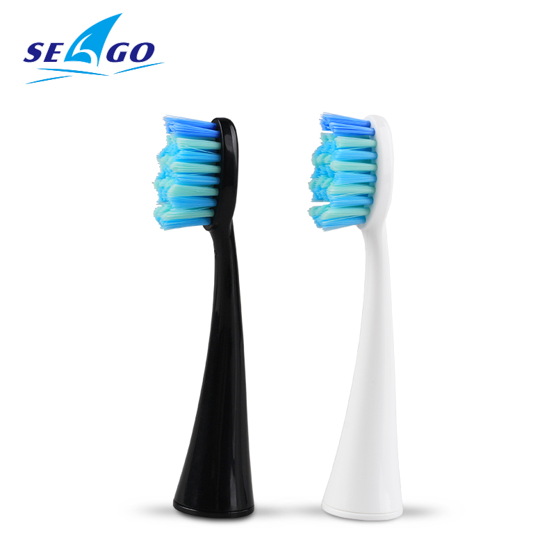 SEAGO 4PC/Set Electric Toothbrush Heads Tooth brush Replacement Brush Head for S2 Fit Advance Power/Pro Health/Precision Clean image
