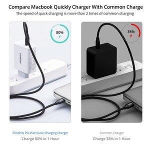 Image 3 - ประเภท C 45W USB Charger แล็ปท็อป FAST CHARGE WALL ADAPTER 15V 3A Type C พับ US โทรศัพท์มือถือแบบพกพาชาร์จ
