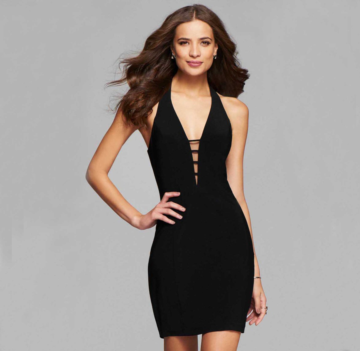 MUXU black bandage suspender dress backless patchwork vestidos sexy fashion kleider summer party bodycon pencil dress jurken in Dresses from Women 39 s Clothing