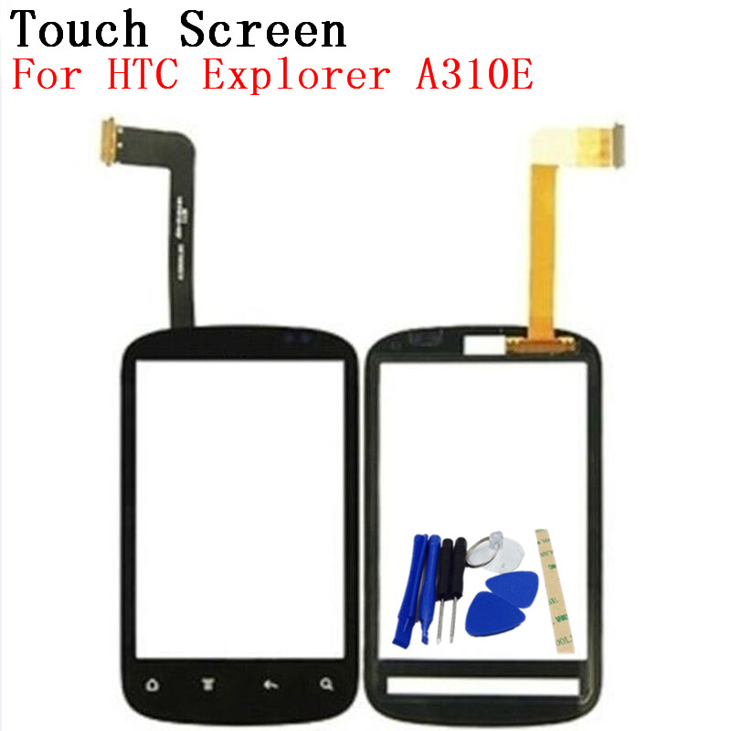 RTBESTOYZ Black Color Touch Screen For HTC Explorer A310E Mobile Phone Touch Panel Sensor Digitizer Replacement Glass