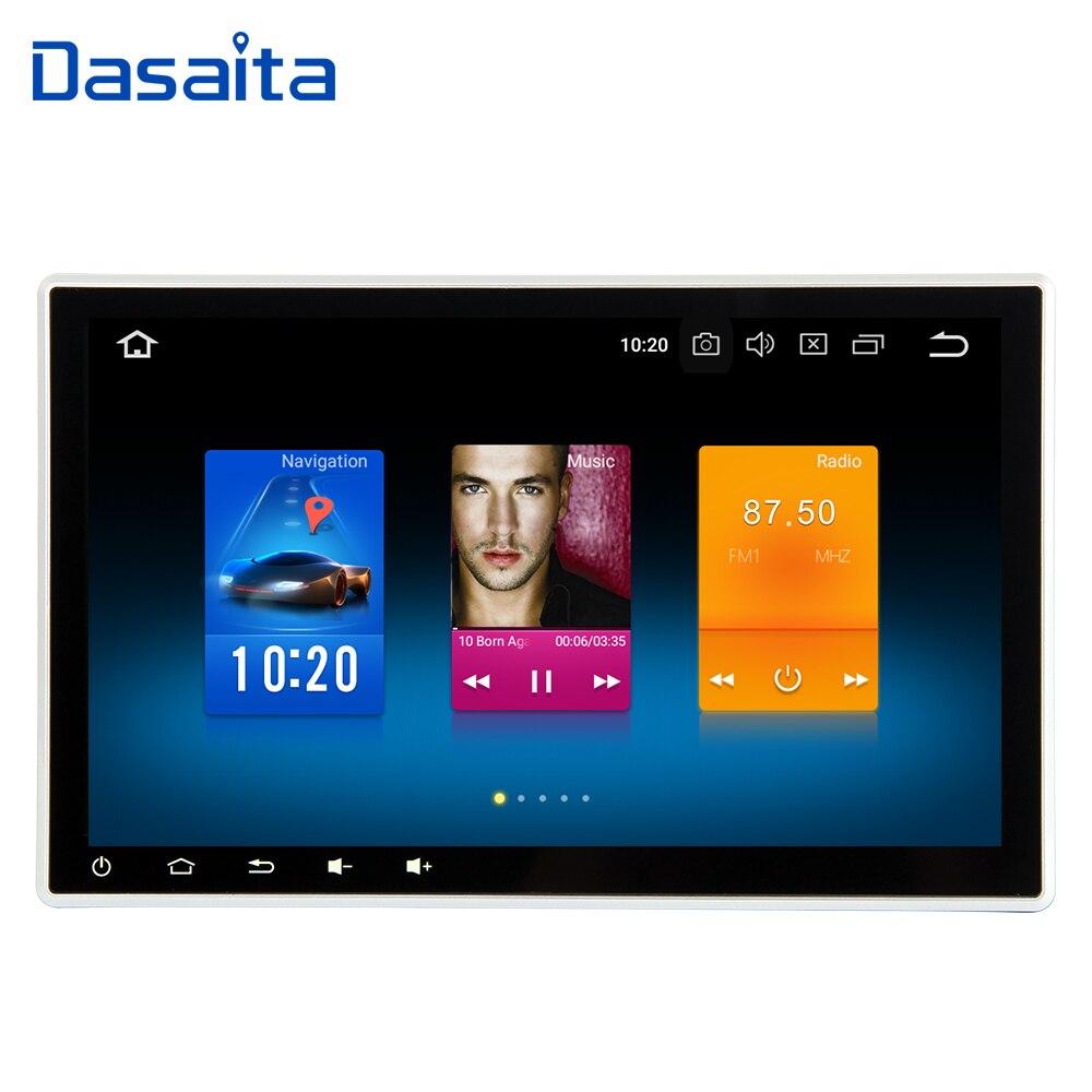 10.2 Universal 1 Din Android 8.0 Voiture Radio GPS Réglable IPS Tactile Écran Voiture Stéréo Navigation Headunit pour Toyota nissan