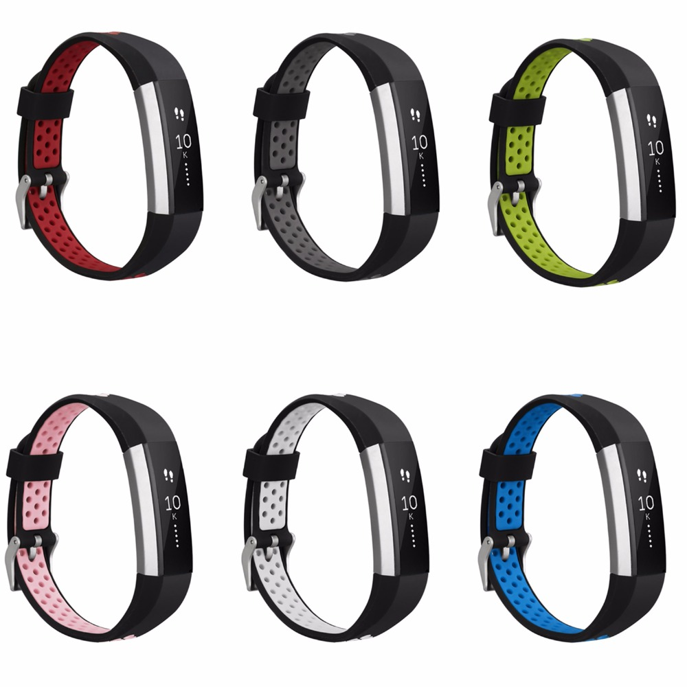 Silicone strap for fitbit alta hr band replacment Wristband Breathable sport Bracelet belt for Fitbit Alta HR/Alta smart watch