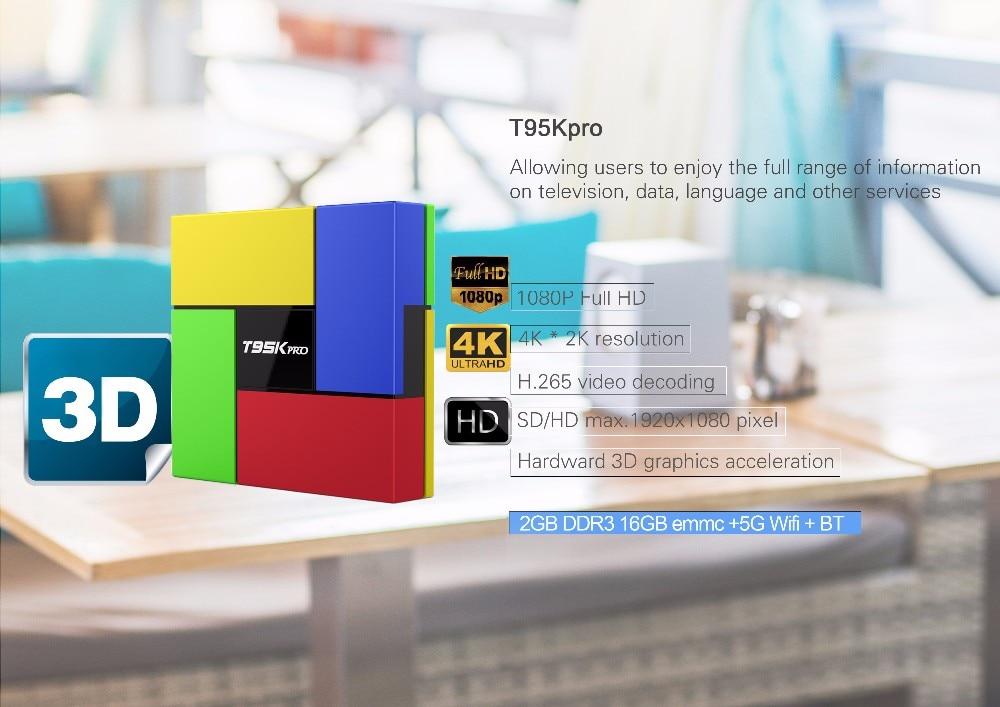 Octa Core Android Arab IPTV BOX T95Kpro Free 1500 Europe Arabic IPTV  Channels S912 2GB/16GB TV Box KODI WIFI H265 Media Player -in Set-top Boxes  from