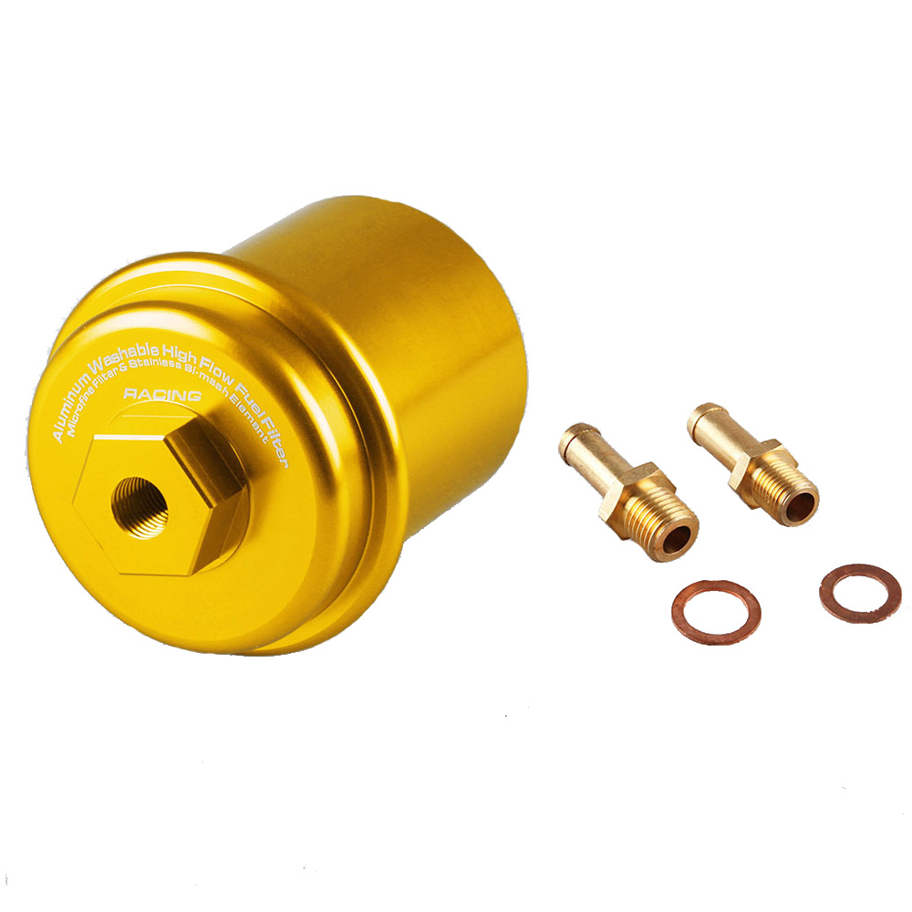 JDM Sport High Flow Racing Fuel Filter Performance FOR