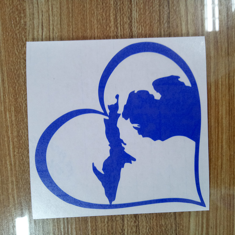 MICHIGAN LOVE HEART Vinyl Decal Sticker Car Window Wall Bumper Great Lakes State