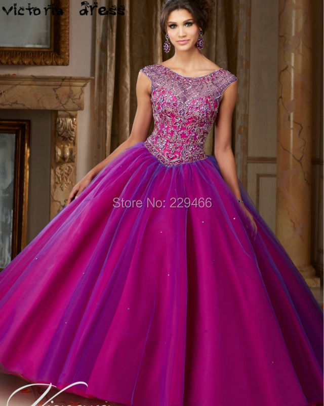 Vestido-De-15-Anos-Debutante-Gowns-Puffy-Ball-Gown-Quinceanera-Dresses-Sweet-16-Dresses-Cinderella-Cheap (2)