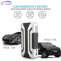 2018 Car Jump Starter 18000 Mah Portable Power Bank Car Charger Booster For Petrol 8.0 L Diesel 6.0l With 1000a Peak Current