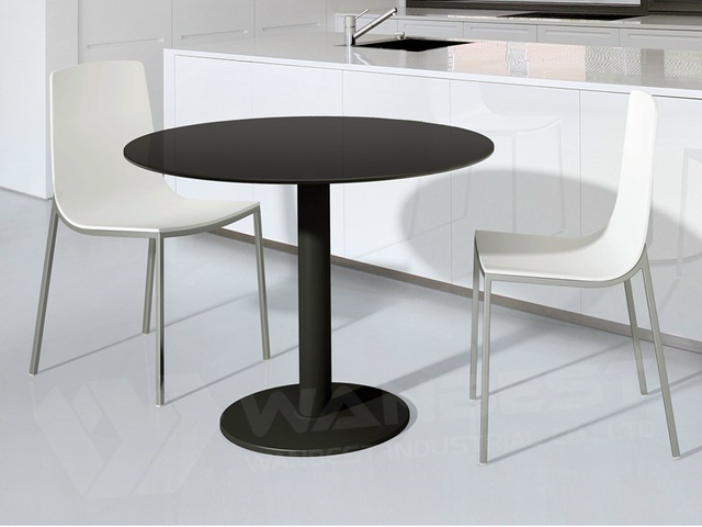 Round Solid Surface Corian Dining Table