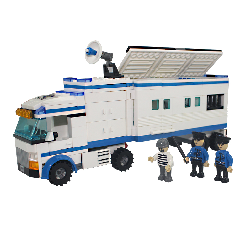 400 Block Above Bomber Truck Children Educational Assembled DIY Model Kids Toys Gift Building Blocks Brick Compatible With Legoe lepin17001 city street tai mahal model building blocks kids brick toys children christmas gift compatible 10189 educational toys