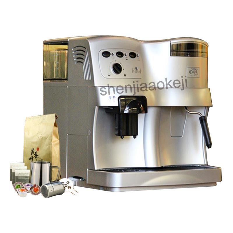 CLT Q001 Household Coffee Machine with grinder Automatic Commercial pump pressure multi function coffee machine ABS plastic 220V