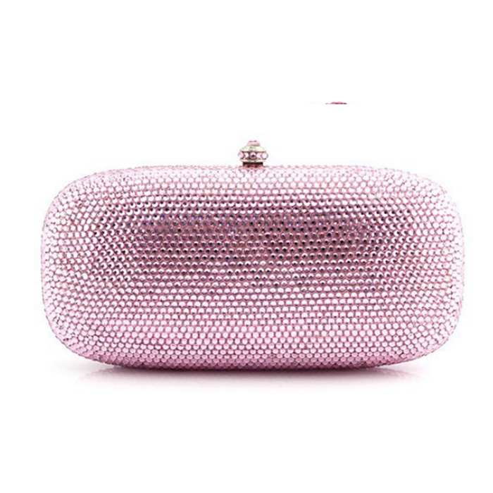 red/gold/pink lady evening bags clutches wedding women night clutch purse Party Cocktail Minaudiere Handbag for Bridal gift box women minaudiere heart crystal lady fashion bridal party night metal evening purse handbag case box clutch bag smyzh f0090