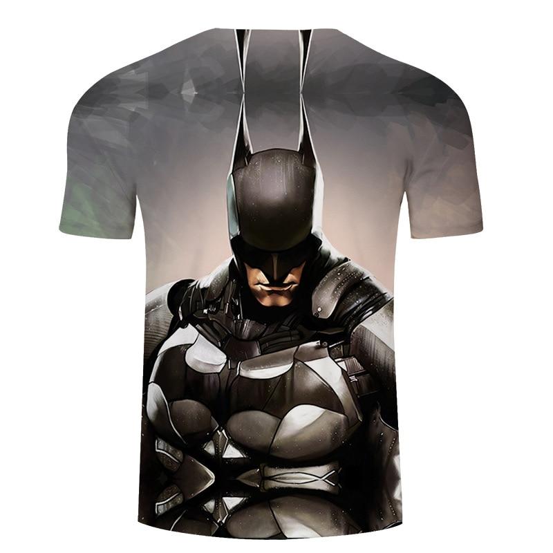 Marvel superman batmanT-shirt 3Dt shirt printed short sleeve summer hip hop lil peep camisetas hombreDragon ball haraju